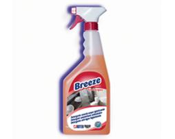 BREEZE ANTIACQUA FLACONE ML. 750 Detergente sanificante con effetto scaccia-acqua area bagno