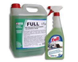 FULL LT. 5 Detergente multiuso sgrassante neutro per superfici e pavimenti | onlyshopsrl