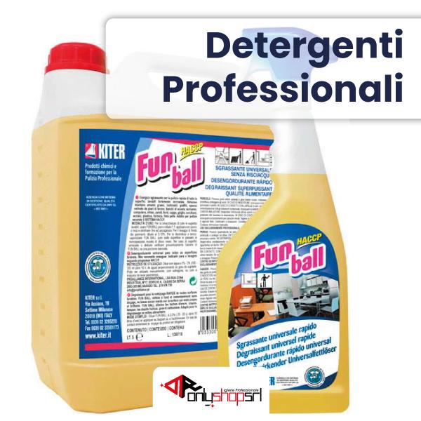 Linea detergenti - Fornitura di prodotti per la pulizia e l'igiene professionale
